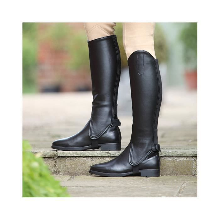 Shires Synthetic Leather Riding Gaiters