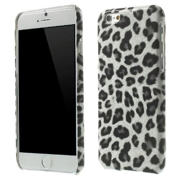 COQUE - BUMPER Coque rigide Apple iPhone 6 design leopard gris  +