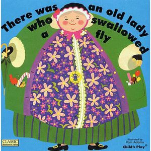 LIVRE ANGLAIS There was an old lady who swallowed a fly