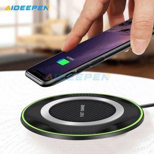 CHARGEUR TÉLÉPHONE Chargeur rapide sans fil Qi 10w pour iPhone Samsun