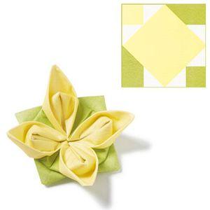 serviette jetable jaune achat vente pas cher. Black Bedroom Furniture Sets. Home Design Ideas