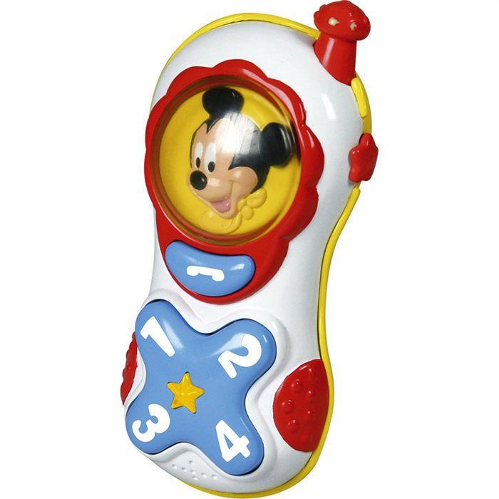 MICKEY Téléphone Enfant Clementoni