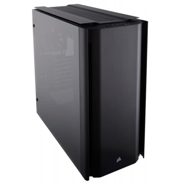 CORSAIR Boitier PC Obsidian 500D Mid Tower Case, Premium Tempered Glass and Aluminum