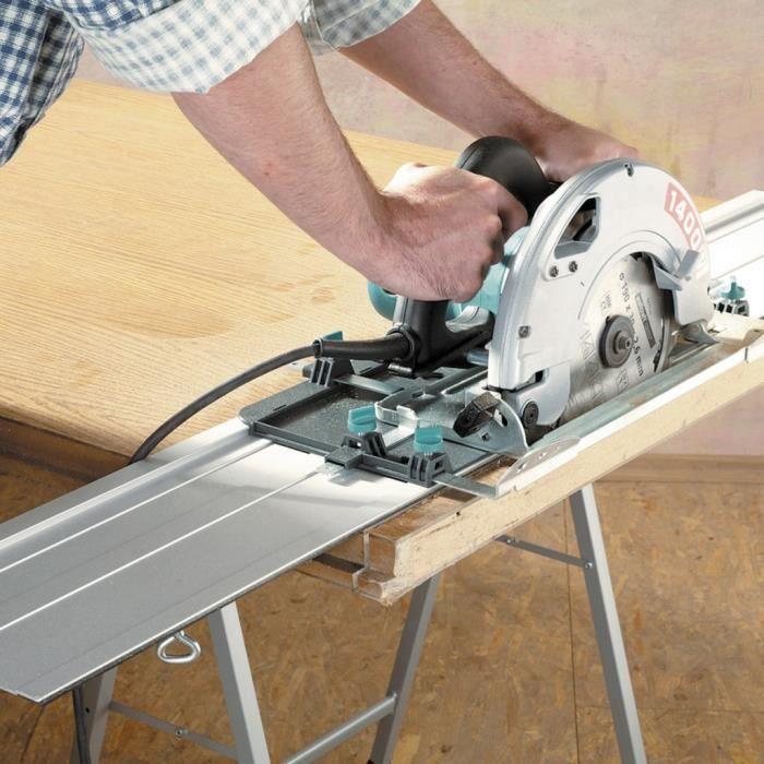 accessoires pour scies sur table wolfcraft rail de guidage pour scie circulaire fks 115 6910000. Black Bedroom Furniture Sets. Home Design Ideas