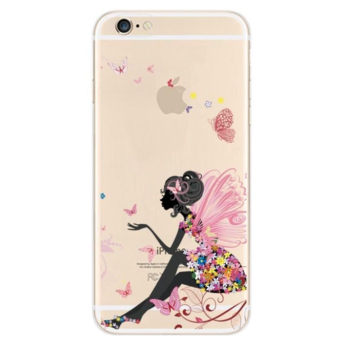 coque protection iphone 6 fille