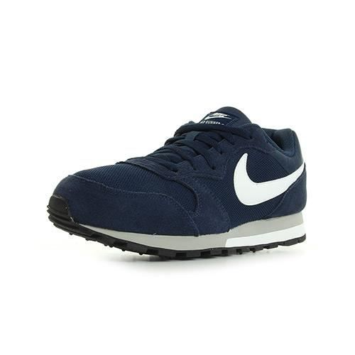 Chaussures Nike MD Runner grises femme
