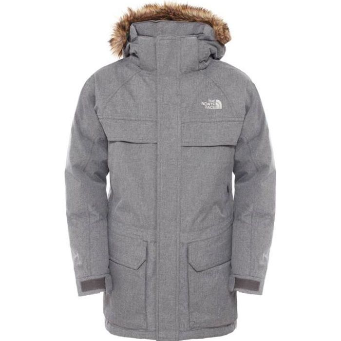 doudounes the north face mcmurdo down parka boys gris gris. Black Bedroom Furniture Sets. Home Design Ideas