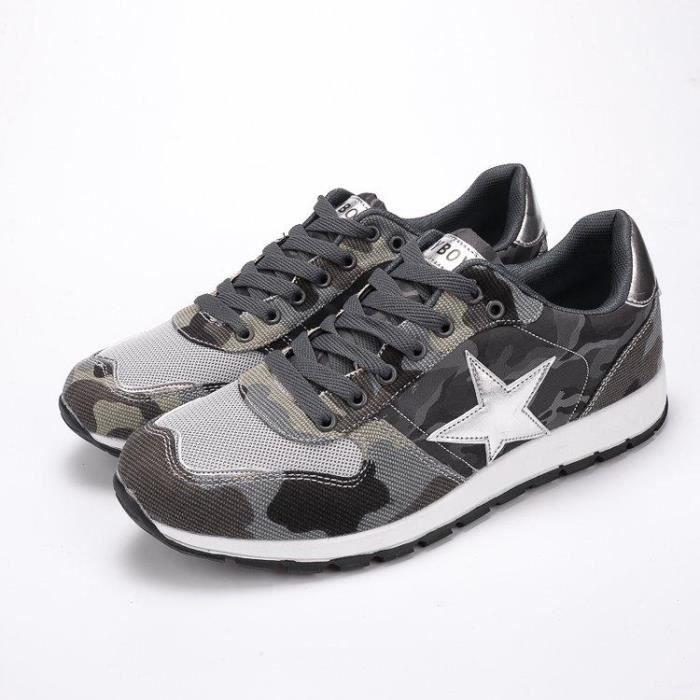 Chaussure De Course Deluxe AntidéRapant Respirante Confortable Homme gris 44 R54054367_803