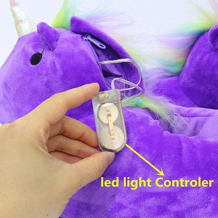 Chaud Hiver Fluffy Femmes Violet Unicorn Chaussures Pantoufles Po141 violet Rose Softwares rrxqTd