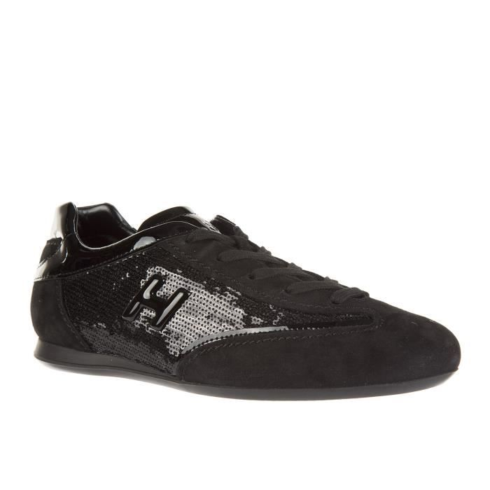 h metallo camoscio Hogan baskets femme in Chaussures sneakers olympia qzCwpYp