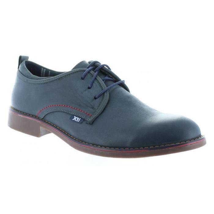 Chaussures pour Homme XTI 45728 NOBUK NAVY