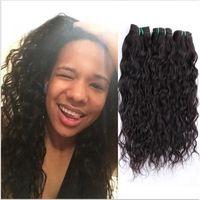PERRUQUE - POSTICHE extensions cheveux 3pcs 20inch Vague brésilienne V