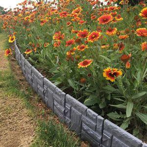 Bordure jardin plastique - Achat / Vente pas cher