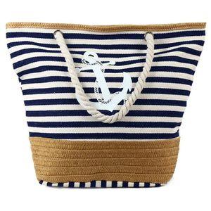 SAC À MAIN Pulama plage Fourre-tout sac à main d'ancre d'été