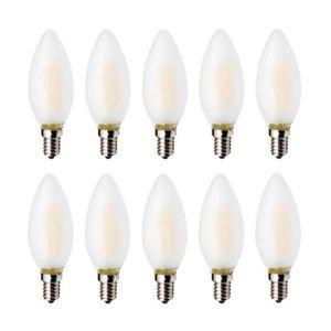 AMPOULE - LED Ampoule LED E14 4W Flamme Bougie LED Lumiere, Blan