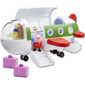 FIGURINE - PERSONNAGE Peppa Pig Air Peppa Jet Playset Avec Figure & Acce