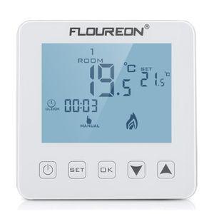 THERMOSTAT D'AMBIANCE Floureon 16A LCD Écran Tactile Thermostat de Chauf