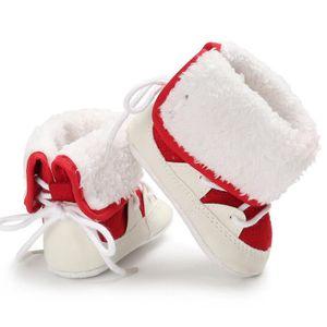 BOTTE Automne et hiver Garde au chaud Plus épais Chaussu