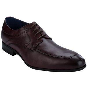 DERBY Chaussures Miguel derby à bout fendu en cuir pour