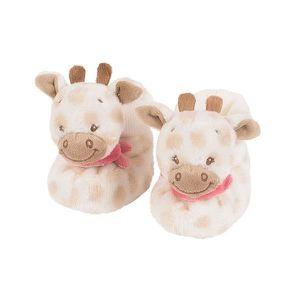 CHAUSSON - PANTOUFLE NATTOU Chaussons d'éveil Charlotte la girafe