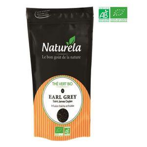 THÉ Naturela -100g- Thé Vert Earl Grey n° 8 Bio