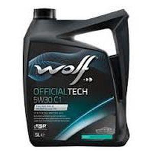HUILE MOTEUR Bidon 20 litres d'huile 5W30 C1 Wolf 8317279