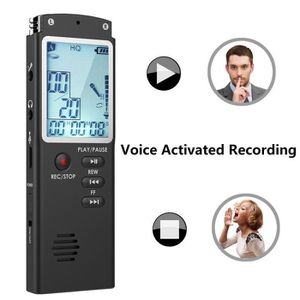 DICTAPHONE - MAGNETO. YIER 8GB Enregistreur vocal Rechargeable Dictaphon