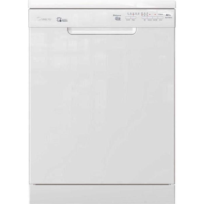 Lave Vaisselle CANDY CDPN2L350SW - Posable - 60 cm Largeur - 13 couvertes - A ++ - 46 db - Blanc