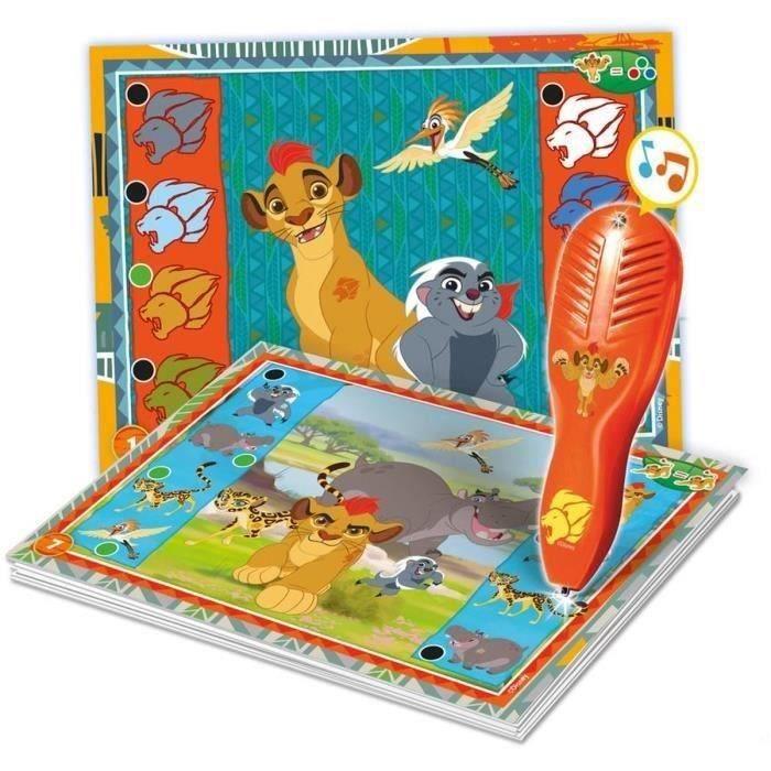 LA GARDE DU ROI LION Quizzy Clementoni. 23 activités éducatives pour jouer avec La Garde du Roi Lion. Mixte. Dès 3 ans - livré à l'unitéTABLE ACTIVITE - JOUET D'ACTIVITE