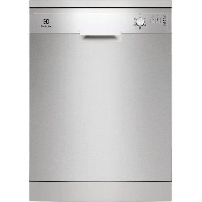 ELECTROLUX ESF5209LOX - Lave-vaisselle posable-13 couverts-47 dB-A++-Larg 60 cm-Moteur induction