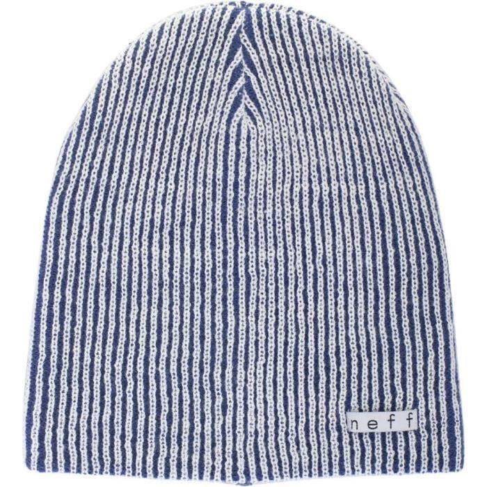 NEFF Weekly Bonnet - Blanc / Bleu - Homme