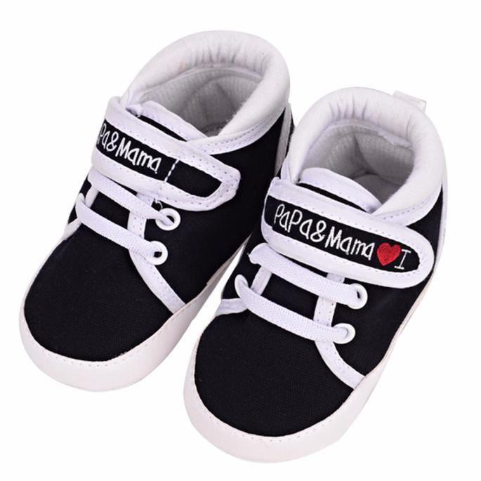 Chaussures bébé Infant Kid Garçon Fille douce Sole Canvas Sneaker Toddler