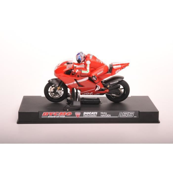 Vehicule Moto Pour Miniature Ducati 09 411827 Bycmo Circuit Gp sthQCrdx