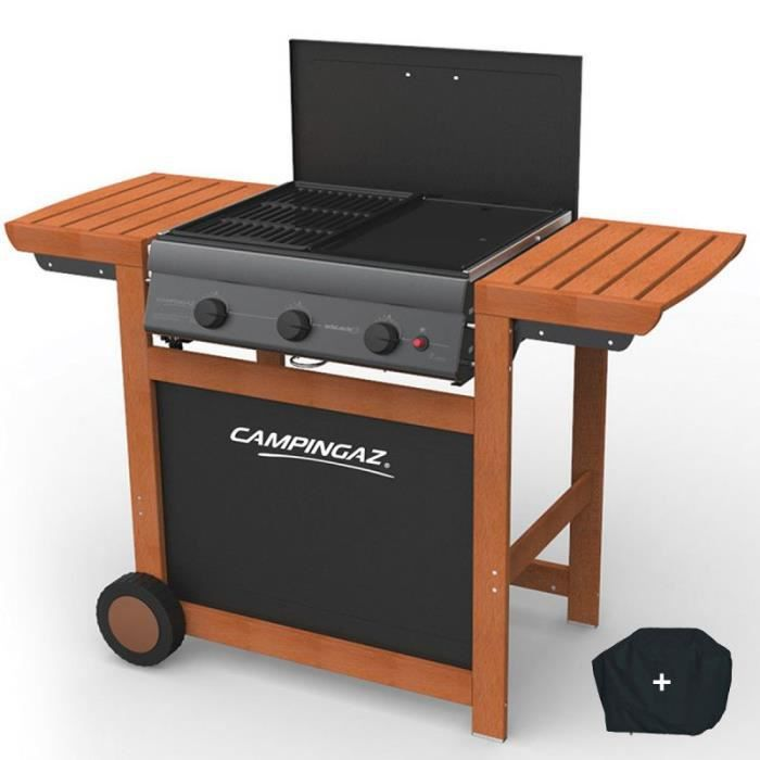 BARBECUE Barbecue grill et plancha gaz CAMPING GAZ Adelaide