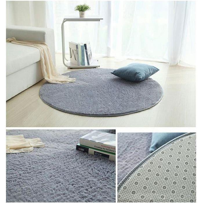 Tapis Salon Carpet Tapis Chambre Rond Tapis Shaggy Yoga Moquette