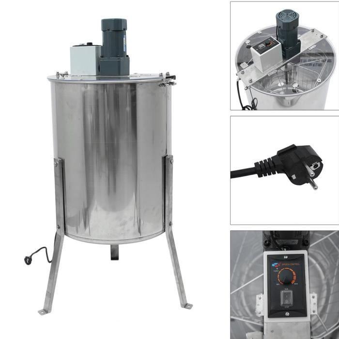 DEFIGEUR A MIEL Extracteur De Miel électrique 4 Cadre Manivelle Ex