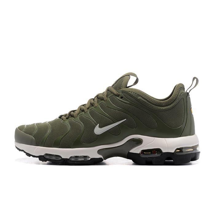 size 40 d9b78 9695d Hommes Nike Air Max Plus Tn Ultra Baskets Chaussures De Sport Vert