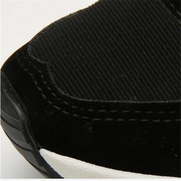Basket Femmes Comfortable Mode Jogging Chaussure BCHT-XZ039Noir36 Z4Wiqxpn