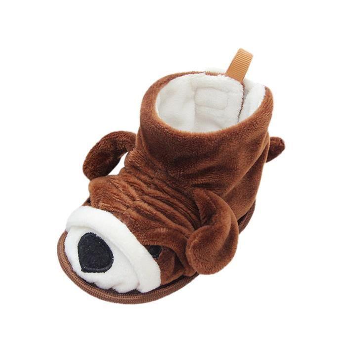 Enfant Neige Lit Bb De En Cartoon Doux Fille Design Chaussures caf ge Gar Bottes on Bas Warming q0ZzSqw4