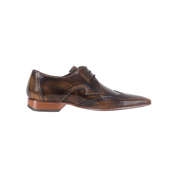 Jeffery West Homme Chaussures polies, Marron