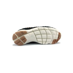 002 446337 Basket Woven Chukka Air Nike Footscape Noir 4CSw0PqS
