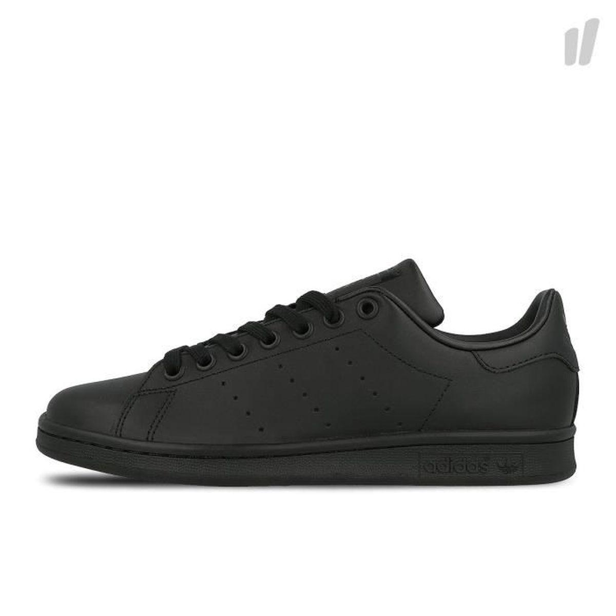 adidas noir en cuir