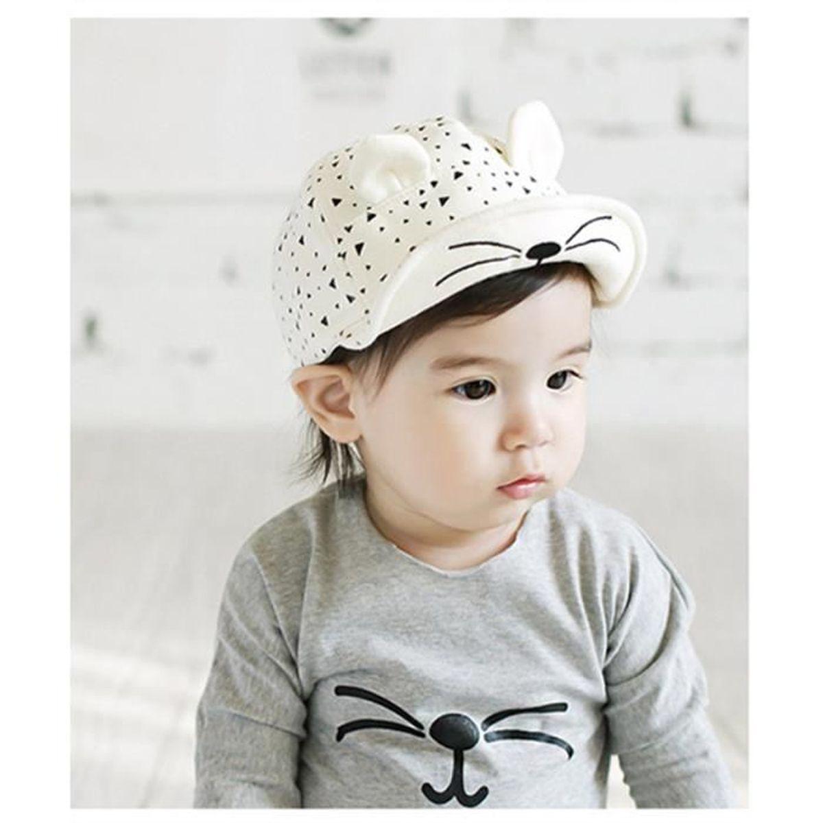 Casquette Enfant Bébé Garçon Fille 0-2ans Chapeau Enfants d été ... 60b8884589c