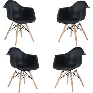 CHAISE Lot de 4 Chaises Scandinaves Chaises Design Chaise