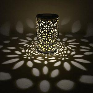 Lumière solaire de jardin Jardin étanche décoration vent lampe de ...