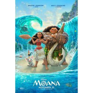 AFFICHE - POSTER Poster du film animé Vaiana (Dimensions : 10 x 15