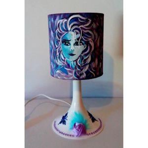 Lampe Pas Vente Achat De Violet Chevet jqL354RA