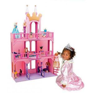 MAISON POUPÉE Superbe maison/château de poupées 2 étages