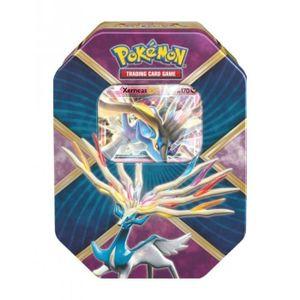 CARTES DE JEU Pokébox - Cartes Pokémon - 4 boosters + Xerneas-EX