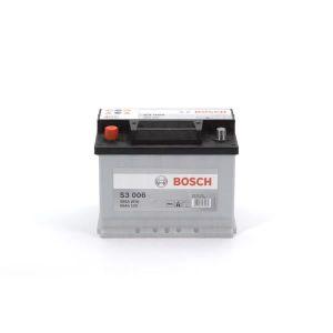 BATTERIE VÉHICULE BOSCH Batterie Auto S3006 56Ah 480A / + à gauche